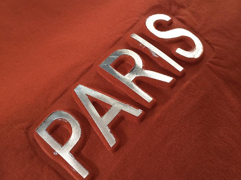Dập Nổi Trên Vải Paris