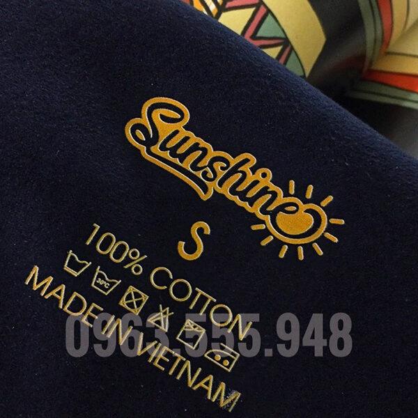 Nhãn Ép Nhiệt Sunshine