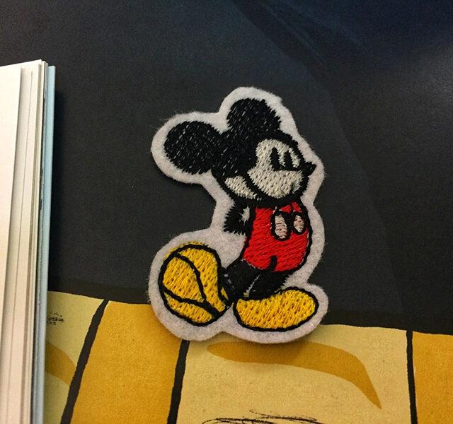 Thêu Con Giống Mickey