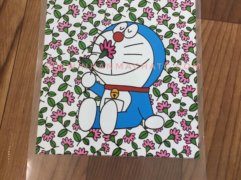 Mẫu In Pet Chuyển Nhiệt Doraemon Mới