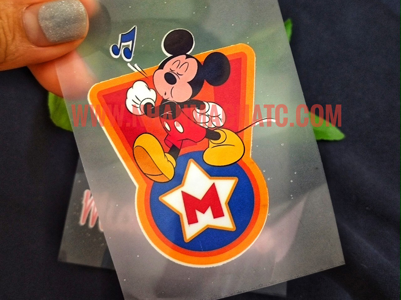 Mẫu In Pet Chuyển Nhiệt Mickey In Áo Thun Đẹp Rẻ Lấy Ngay